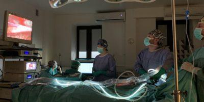 Warsztaty laparoskopowe z operacji przepuklin pachwinowych